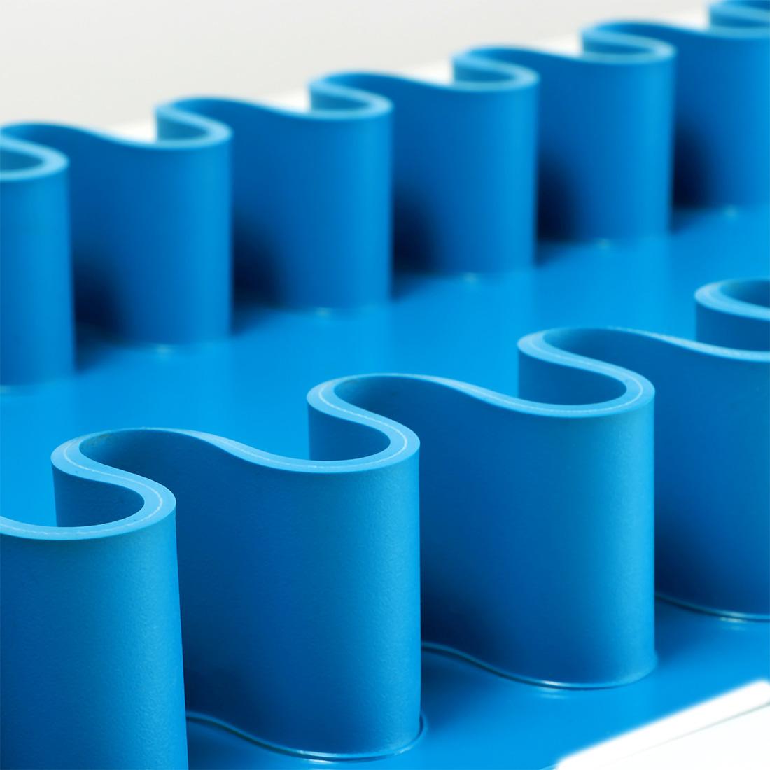 gewebeverstärkte Wellkante aus PVC