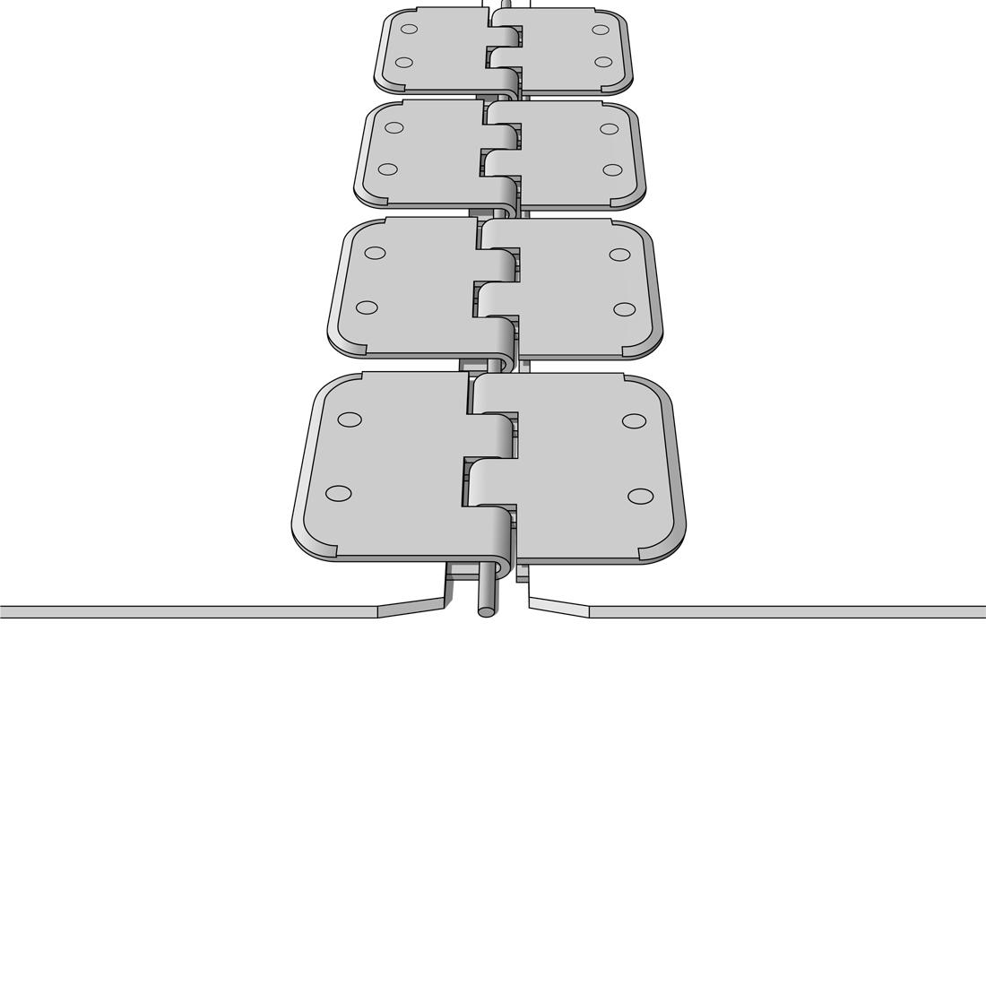 Alligatorverbinder aus Kunststoff