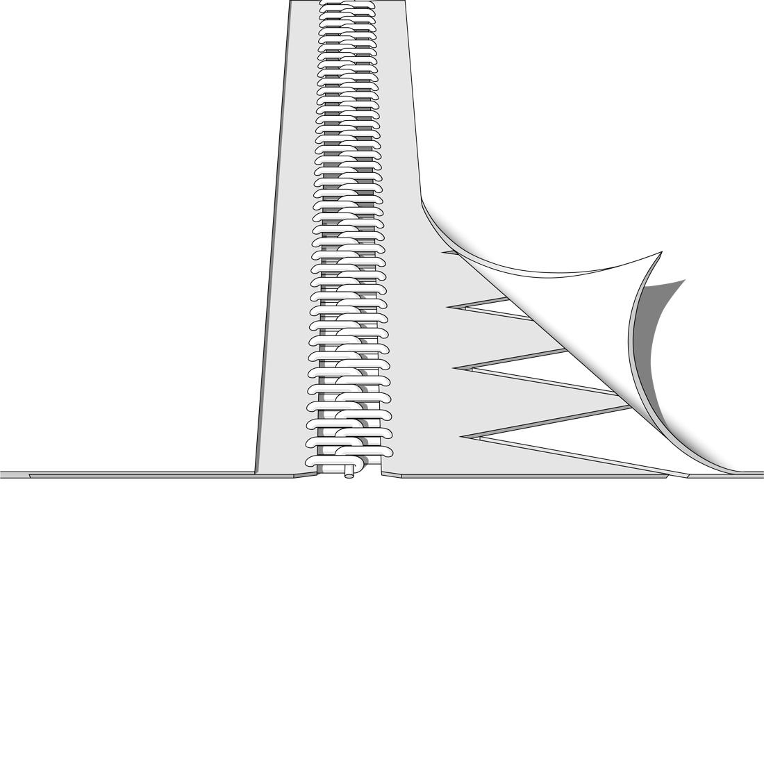 Kunststoffspiralverbinder