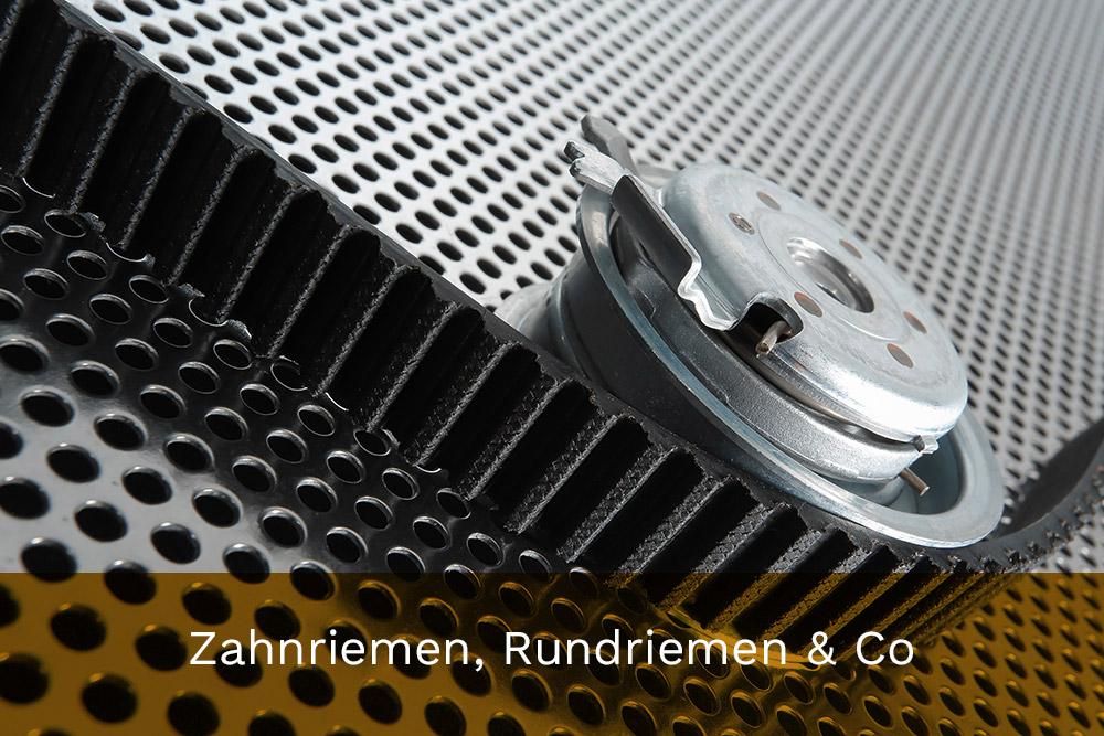 Zahnriemen, Rundriemen & Co