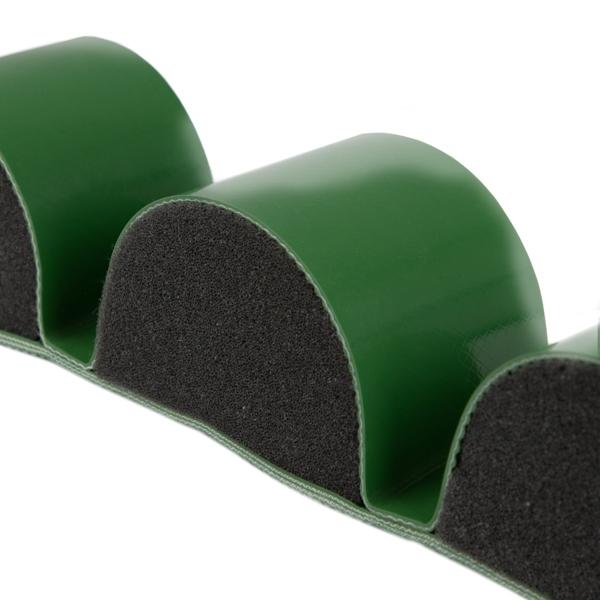 Luftpolsterband mit Schaumstoff